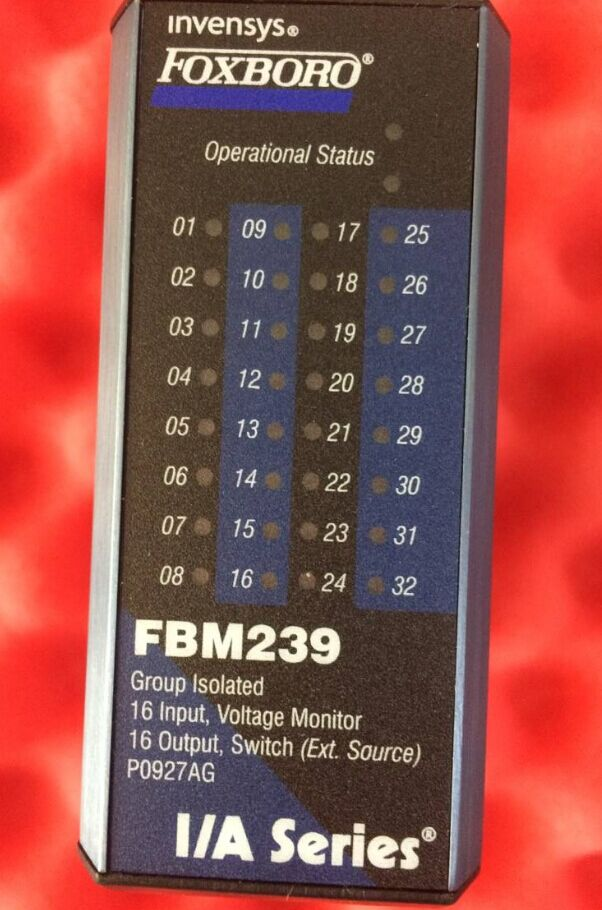 FBM214B Foxboro Invensys FBM214B 8 Channel, Hart Communications Input, Isolated