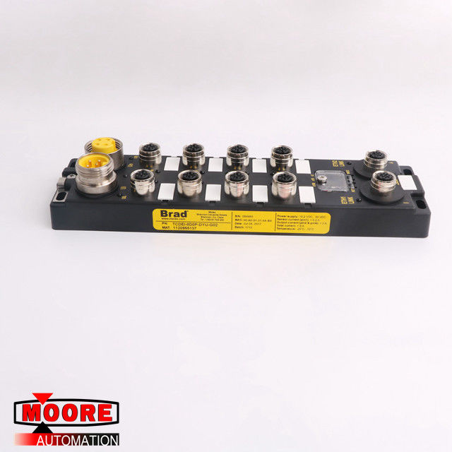 TCDEI-8D0P-DYU-G02 BRAD EtherNet/IP Digital Module 8 Port  19.2VDC 30-VDC supplier