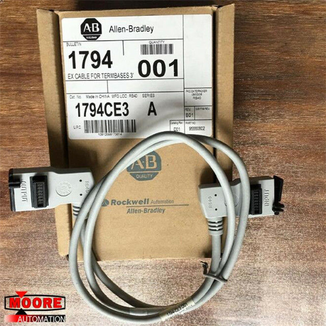1794-CE3 1794CE3  Allen Bradley  AB Extended-local I/O Cable has a 3 ft. Length.