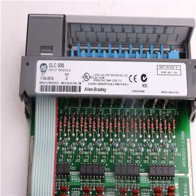 China Allen Bradley Modules 1746-IB16 AB 1746-IB16 SLC 500 Digital I/O Modules Installation factory