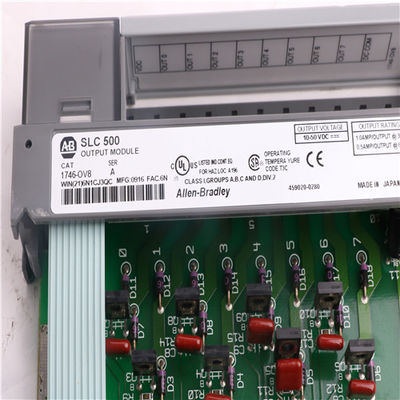 China Allen Bradley Modules 1746-OV8 AB 1746-OV8 SLC 500 Digital I/O Modules Installation factory