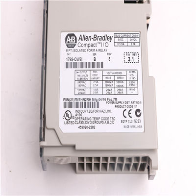 China Allen Bradley Modules 1769-OW8I  AB 1769-OW8I AC/DC Relay Output Module factory